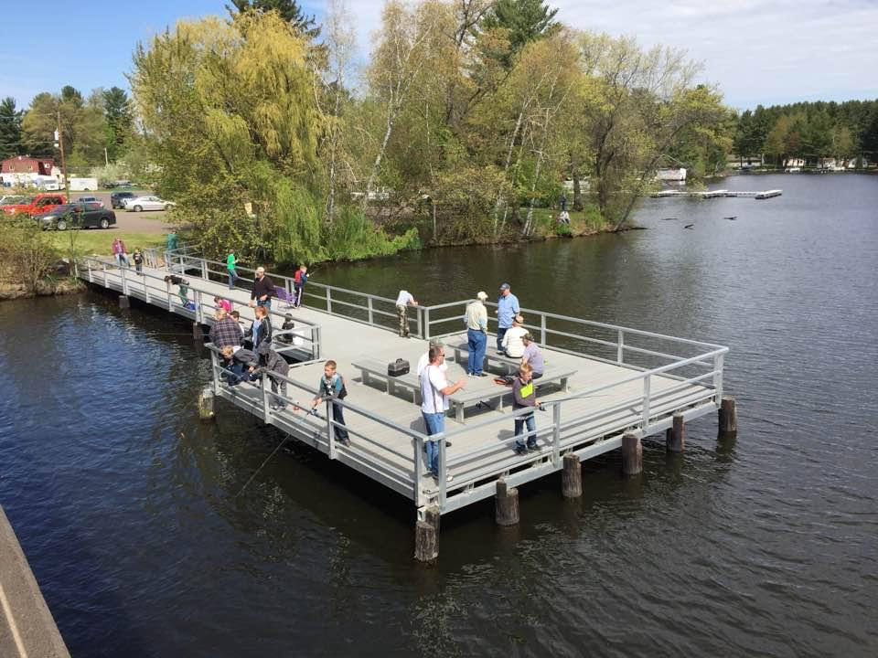 Youth Fishing Outing at Gilligans in Chetek, WI